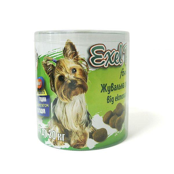Жевательные гранулы от эктопаразитов «Exel Pet» для собак (4-20 кг).