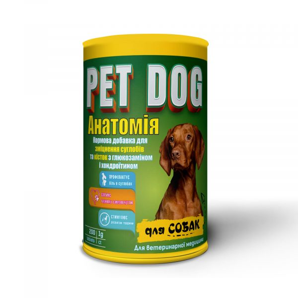 PET DOG «Анатомия»