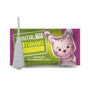 TRINTAL (ТРИНТАЛ) суспензия для котов. ПроизводитеTRINTAL (ТРИНТАЛ) суспензия для котятль: ПК «КРУГ»