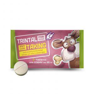 Таблетка TRINTAL (ТРИНТАЛ) для собак (на 25 кг.)